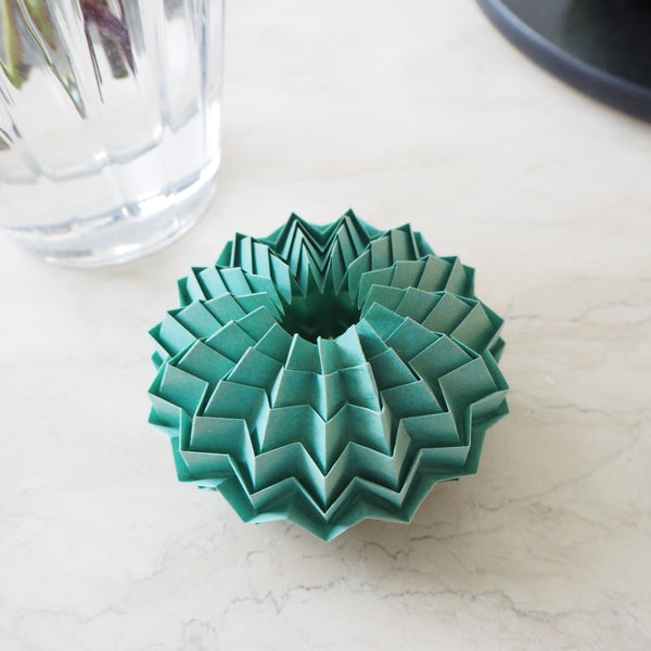 Handmade Origami Sea Urchin Decoration