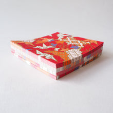 Pack of 100 Sheets 7x7cm Yuzen Washi Origami Paper HZ-264 - Origami Cranes & Mixed Geometric - washi paper - Lavender Home London