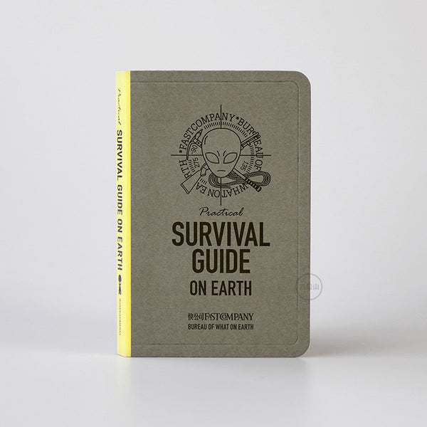 Survival Guide On Earth Notebook