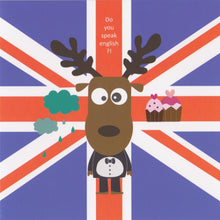 Greeting Card - GA23 - Do you speak English ?!