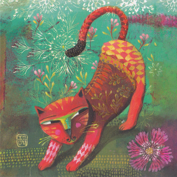 Greeting Card - GA22 - Wild Cat