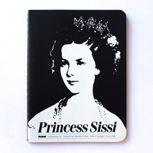 Soft Binding Brown Paper Pocket Notebook - Princess Sissi - Stationery - Lavender Home London