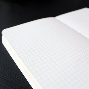 Soft Binding Notebook - King - Grids - Stationery - Lavender Home London