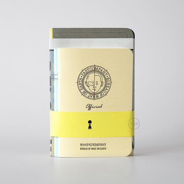 Survival Guide On Earth Notebook - Stationery - Lavender Home London