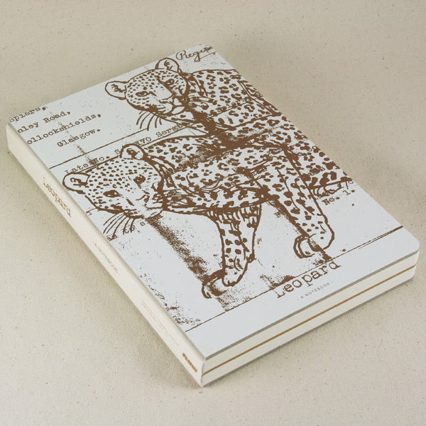 Gold Edition Sketchbook - Leopard