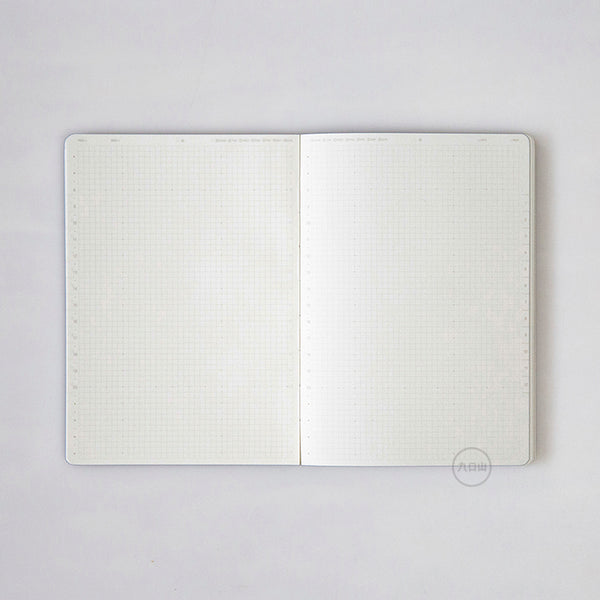Ambitions Semiannual Notebook - White - Stationery - Lavender Home London