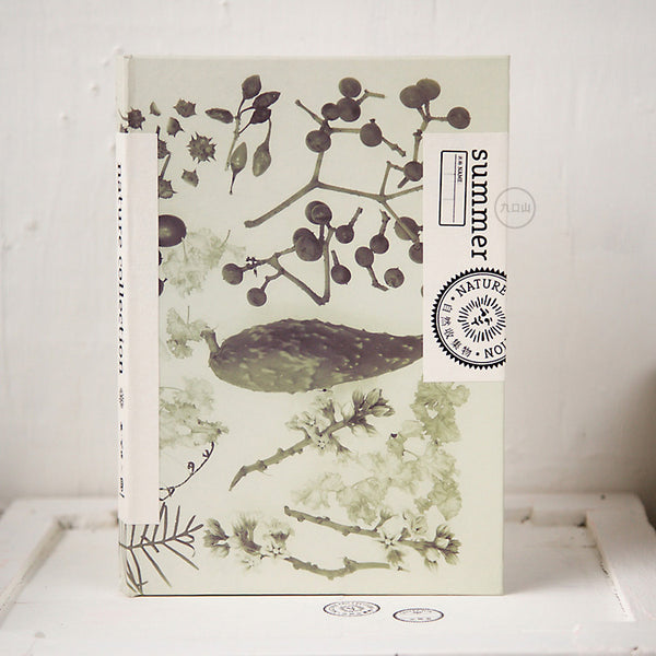 Nature collection sketch book - Summer