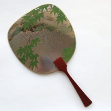 Uchiwa-fan Greeting Card - Maple Tree - Cards - Lavender Home London