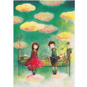 Greeting Card - DA79 - The Clouds