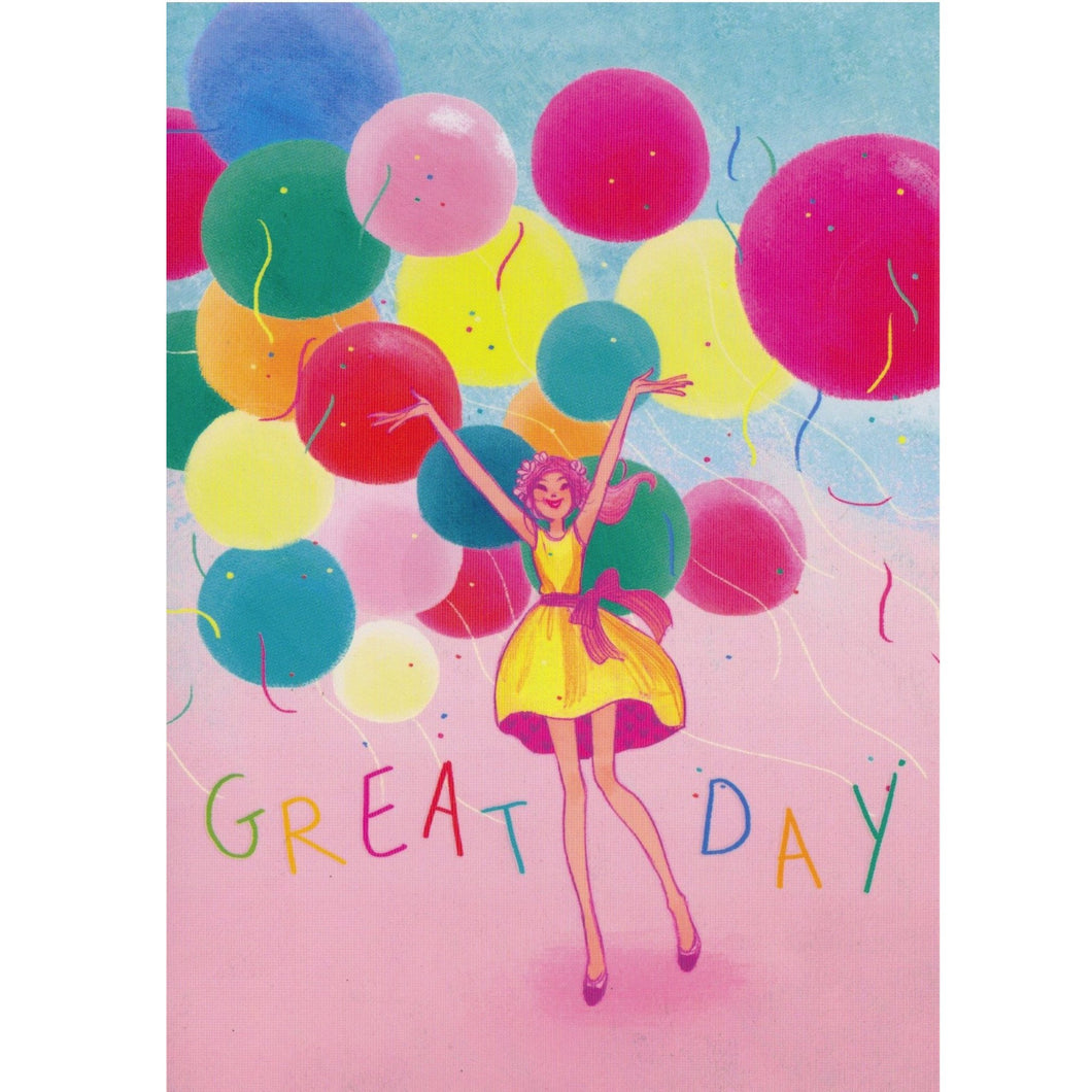 Greeting Card - Great Day - Cards - Lavender Home London