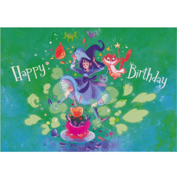 Birthday Card - Happy Birthday Witch - Cards - Lavender Home London