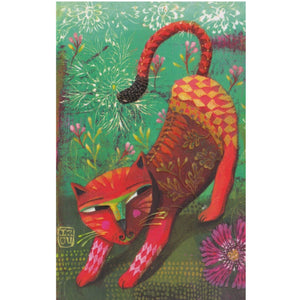 Greeting Card - HA6 - Wild Cat
