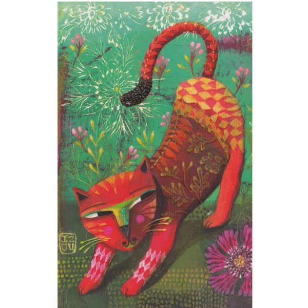 Greeting Card - Wild Cat - Cards - Lavender Home London