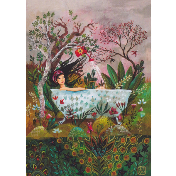Greeting Card - Bath of Youth - Cards - Lavender Home London