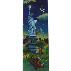 Large Greeting Card - JA13 - Statue of Liberty