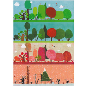 Greeting Card - DA49 - The Four Seasons