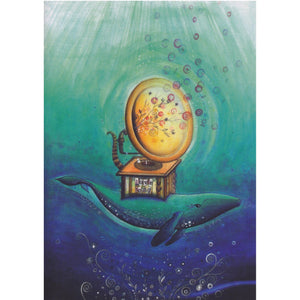 Greeting Card - Whale Song - Cards - Lavender Home London