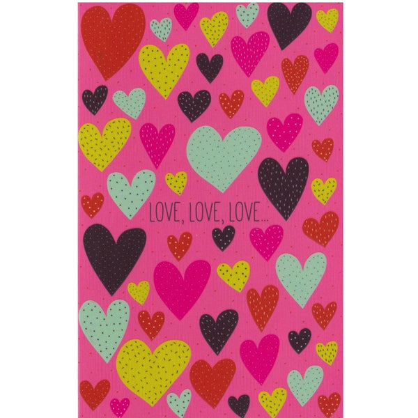Love Card - HA18 - Love Hearts