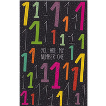 Greeting Card - HA17 - You Are My Number 1