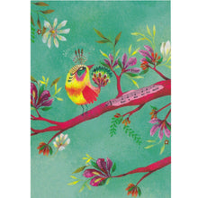 Greeting Card - What a Wonderful World Music Song Bird - Cards - Lavender Home London