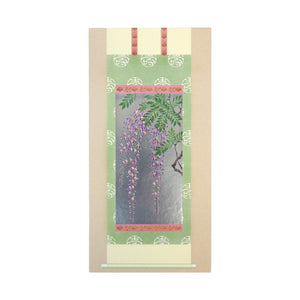 Japanese Art Greeting Card - Japanese Wisteria Floribunda - Cards - Lavender Home London