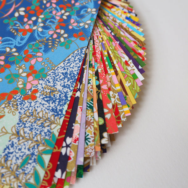 Washi Origami Paper Pack - 50 Sheets Mixed patterns