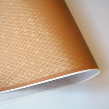 Yuzen Washi Wrapping Paper traditional gold brown pattern