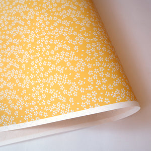 Yuzen Washi Wrapping Paper HZ-078 - Small Cherry Blossom - washi paper - Lavender Home London