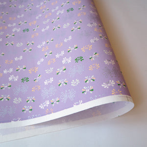 Yuzen Washi Wrapping Paper lavender pattern