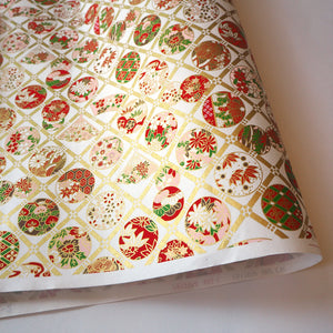 Yuzen Washi Wrapping Paper traditional pattern