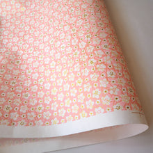 Yuzen Washi Wrapping Paper HZ-408 - White Plum Flowers Pink - washi paper - Lavender Home London