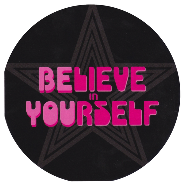 Mini Greeting Card - HO44 - Believe in Yourself - Lavender Home London