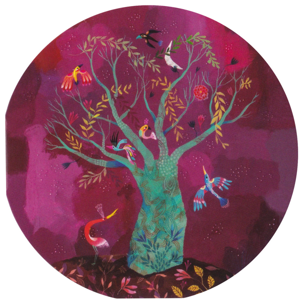 Mini Greeting Card - The Bird Tree