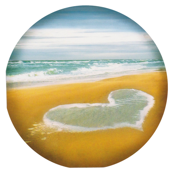 Mini Love Card - HO41 - The Beach - Lavender Home London