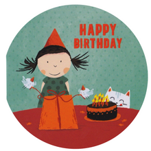Birthday Card - RS19 - Happy Birthday Girl - Lavender Home London
