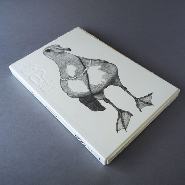 Animal Series Floating Zoo Sketchbook No.02 - Albatross - Pearl Messenger - Stationery - Lavender Home London