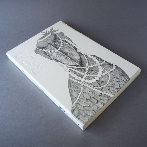 Animal Series Floating Zoo Sketchbook No.03 - Shoebill - With the Pearls - Stationery - Lavender Home London