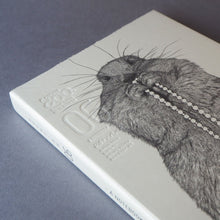Animal Series Floating Zoo Sketchbook No.06 - Groundhog With The Pearls Stationery