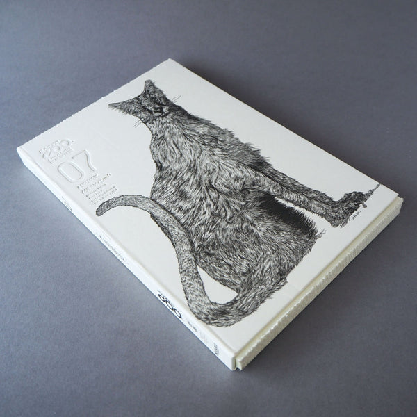 Animal Series Floating Zoo Sketchbook No.07 - Cat - Stray Born Wandering - Stationery - Lavender Home London