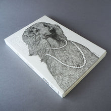 Animal Series Floating Zoo Sketchbook No.11 - Dog - Afghan Hound - Stationery - Lavender Home London