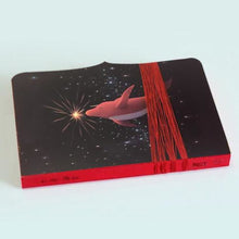Big Fish & Begonia Anime Notebook - Red Dolphin Stationery
