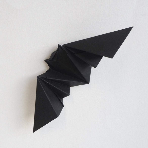 Pack of 10 Origami Halloween Bats