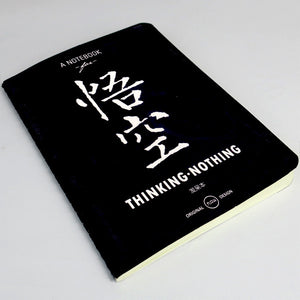 Life Document Paperback Notebook - THINKING NOTHING - Stationery - Lavender Home London