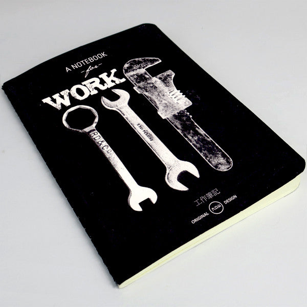 Life Document Paperback Notebook- WORK