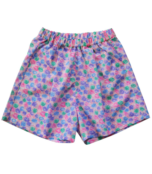 PINK FLOWERS SHORTS - REF 19001B (NOW 30% OFF)