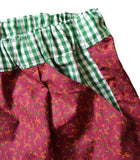 FLOWERED VICHY SHORTS - REF 202001
