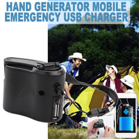 Emergency Hand Crank Charger