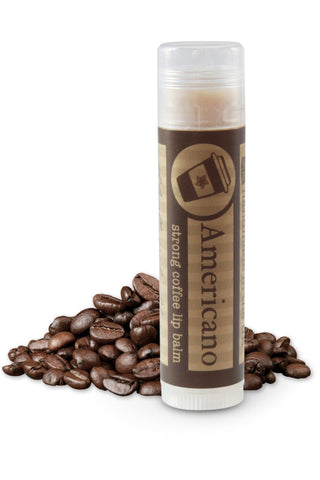 Americano coffee lip balm