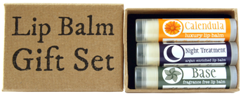 Fragrance Free Lip Balm Gift Set