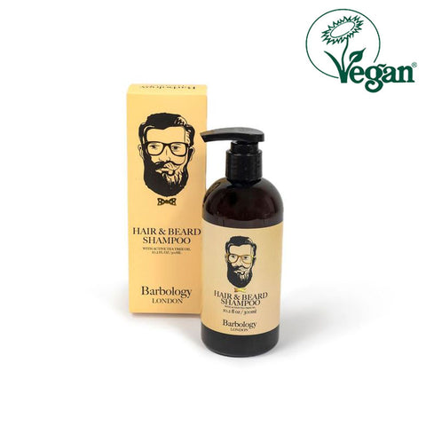 Barbology London Hair & Beard Shampoo 300ml